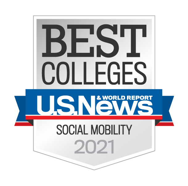 U.S. News & World Report Best Colleges Social Mobility 2021
