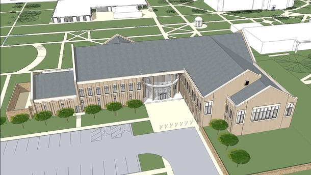 capital campaign give university college new building
