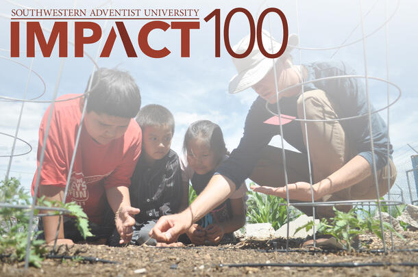 gift donations university impact 100 projects support
