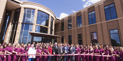 nursing building, grand opening, SWAU nursing