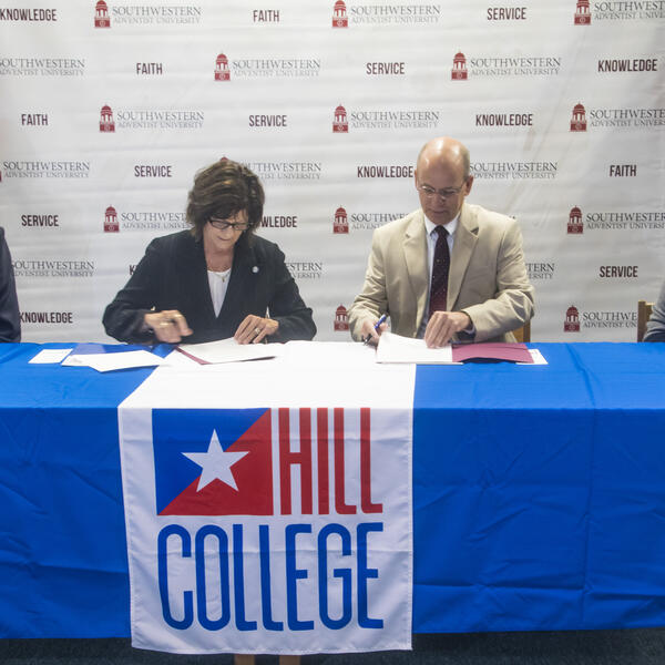 Hill College articulation agreement