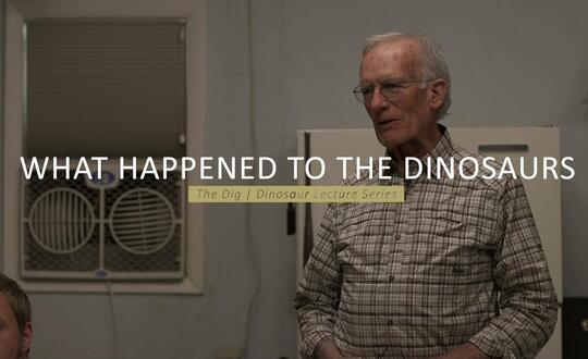 The Dig | Dinosaur Lecture Series - WHAT HAPPENED TO THE DINOSAURS